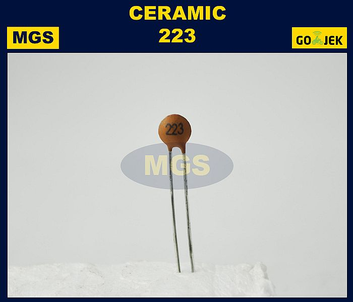 CAPACITOR CERAMIC 223 100PCS