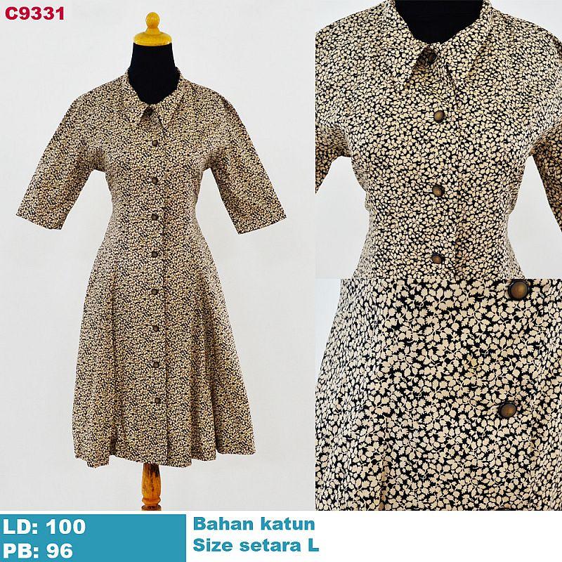 SOLD OUT HABIS TERJUAL » C9331 - BAJU DRESS WANITA BUTIK SISA IMPORT ... 7f27f6d6ca