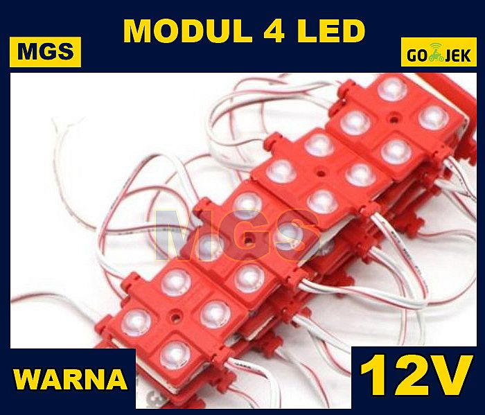 MODUL 4 LED 12V WARNA