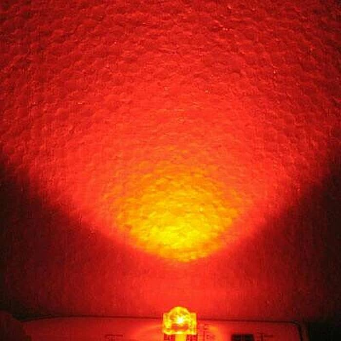 1000Pcs LED Superflux 3mm Putih Nyala Merah