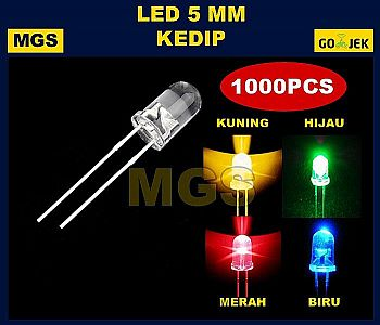 1000PCS LED 5MM KEDIP
