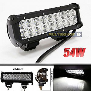 Work Lamp 54W Cree Putih (9-30V) Light Bar Off Road