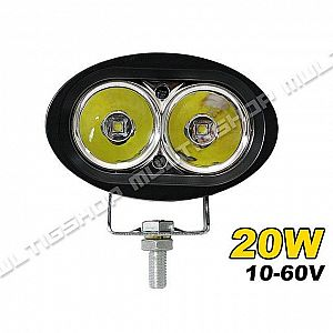Work Lamp 20W Cree 2 LED Owl Lampu Off Road