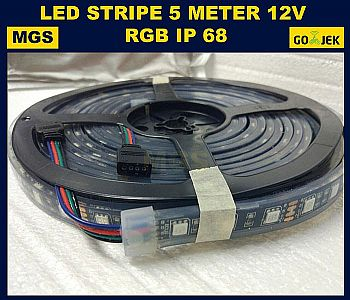 LED STRIPE 5050 IP 68 WATERPROFF LED FLEXIBEL